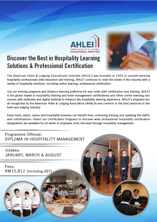 Kdu Discover The Best In Hospitality Learning Solutions